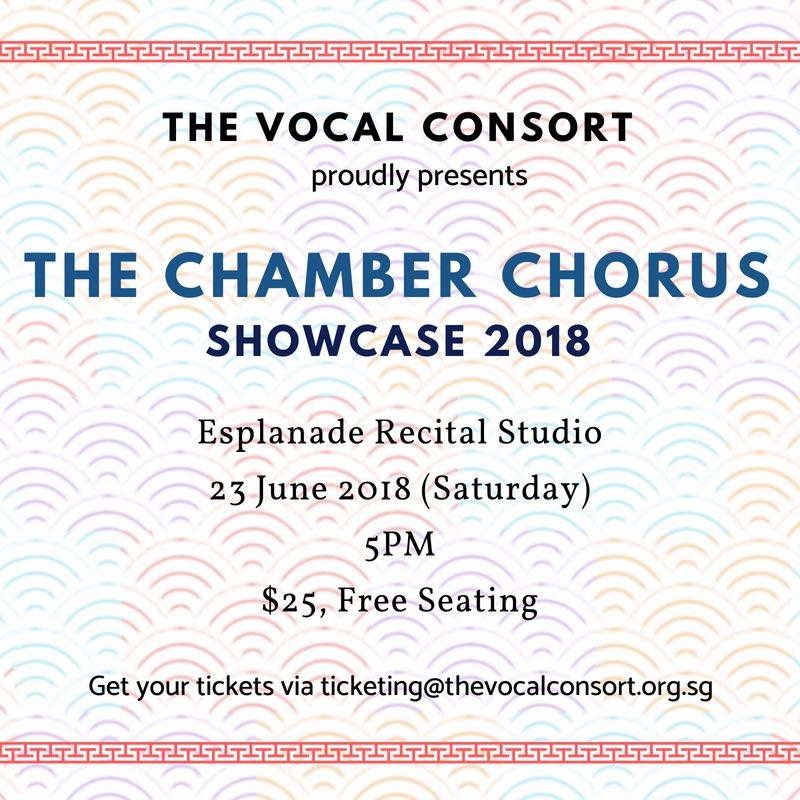 The Chamber Chorus Showcase 2018